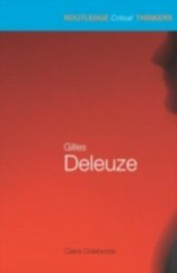 Ebook in inglese Gilles Deleuze Colebrook, Claire