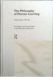 Philosophy of Human Learning