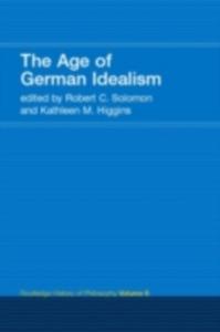 Ebook in inglese Age of German Idealism -, -