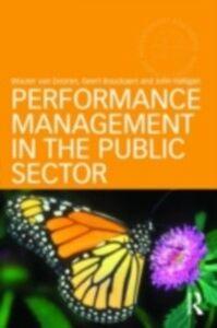 Foto Cover di Performance Management in the Public Sector, Ebook inglese di AA.VV edito da