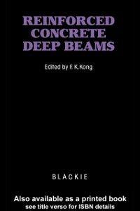 Foto Cover di Reinforced Concrete Deep Beams, Ebook inglese di  edito da CRC Press