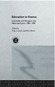Ebook in inglese Education in France -, -