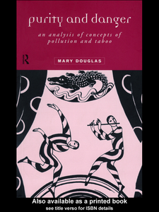 Ebook in inglese Purity and Danger Douglas, Mary