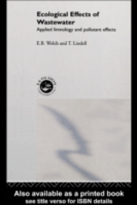 Ebook in inglese Ecological Effects of Waste Water Welch, E.B.