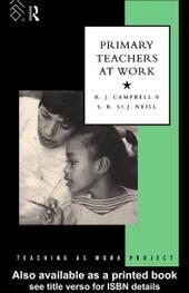 Primary Teachers at Work
