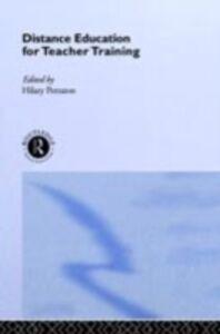 Foto Cover di Distance Education for Teacher Training, Ebook inglese di  edito da Taylor and Francis