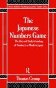 Ebook in inglese Japanese Numbers Game Crump, T