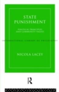 Ebook in inglese State Punishment Lacey, Nicola