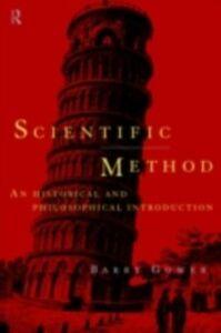 Foto Cover di Scientific Method, Ebook inglese di Barry Gower, edito da Taylor and Francis