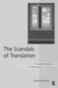 Ebook in inglese Scandals of Translation Venuti, Lawrence