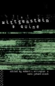 Foto Cover di Wittgenstein and Quine, Ebook inglese di  edito da Taylor and Francis