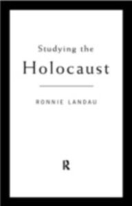Ebook in inglese Studying the Holocaust Landau, Ronnie