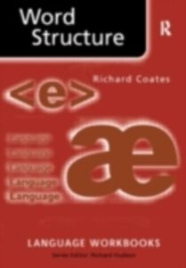 Ebook in inglese Word Structure Coates, Richard