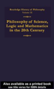 Ebook in inglese Routledge History of Philosophy Volume IX