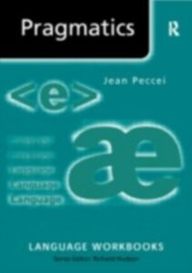 Ebook in inglese Pragmatics Peccei, Jean Stilwell