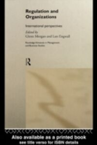 Foto Cover di Regulation and Organisations, Ebook inglese di  edito da Taylor and Francis