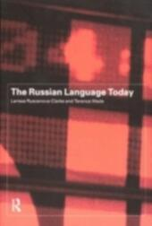 Russian Language Today