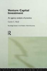 Ebook in inglese Venture Capital Investment Reid, Gavin