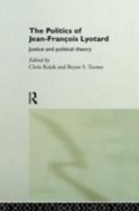 Ebook in inglese Politics of Jean-Francois Lyotard -, -