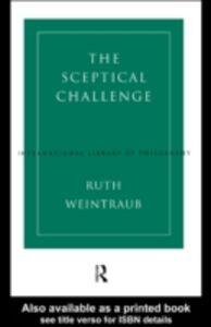 Ebook in inglese Sceptical Challenge Weintraub, Ruth