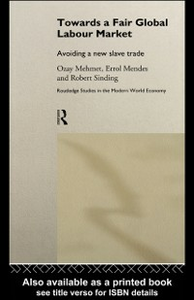 Ebook in inglese Towards A Fair Global Labour Market -, -