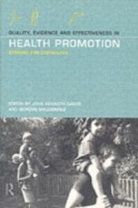 Foto Cover di Quality, Evidence and Effectiveness in Health Promotion, Ebook inglese di  edito da Taylor and Francis