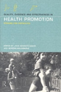Ebook in inglese Quality, Evidence and Effectiveness in Health Promotion -, -