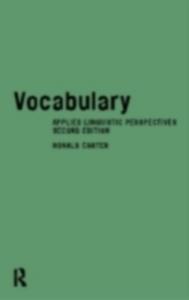 Ebook in inglese Vocabulary Carter, Ronald