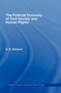 Ebook in inglese Political Economy of Civil Society and Human Rights Madison, Gary B.