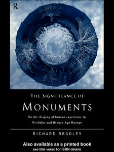 Ebook in inglese The Significance of Monuments Bradley, Richard