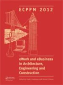 Ebook in inglese eWork and eBusiness in Architecture, Engineering and Construction -, -