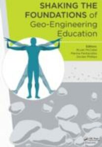 Foto Cover di Shaking the Foundations of Geo-engineering Education, Ebook inglese di  edito da CRC Press