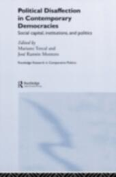 Political Disaffection in Contemporary Democracies