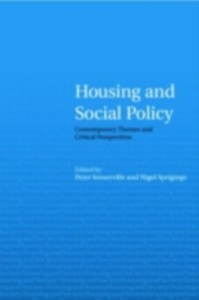 Ebook in inglese Housing and Social Policy -, -