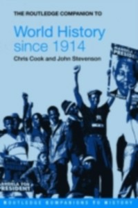 Ebook in inglese Routledge Companion to World History since 1914 Cook, Chris , Stevenson, John