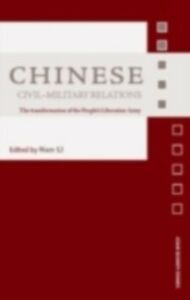 Ebook in inglese Chinese Civil-Military Relations -, -
