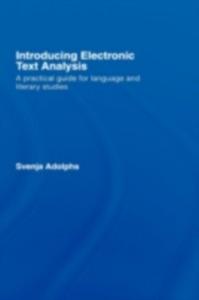 Ebook in inglese Introducing Electronic Text Analysis Adolphs, Svenja
