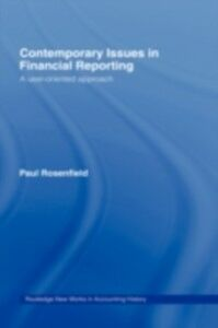 Ebook in inglese Contemporary Issues in Financial Reporting Rosenfield, Paul
