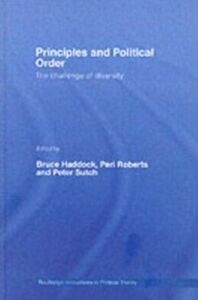 Ebook in inglese Principles and Political Order -, -