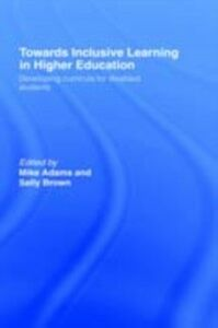 Ebook in inglese Towards Inclusive Learning in Higher Education