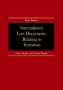 Ebook in inglese International Law Documents Relating To Terrorism Elagab, Jeehaan , Elagab, Omer