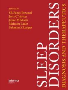 Foto Cover di Sleep Disorders, Ebook inglese di  edito da CRC Press