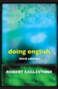 Ebook in inglese Doing English Eaglestone, Robert