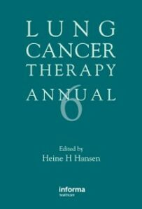 Ebook in inglese Lung Cancer Therapy Annual 6