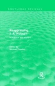 Ebook in inglese Reappraising J. A. Hobson (Routledge Revivals)