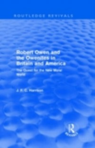 Ebook in inglese Robert Owen and the Owenites in Britain and America (Routledge Revivals) Harrison, John