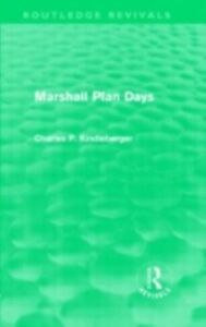 Ebook in inglese Marshall Plan Days (Routledge Revivals) Kindleberger, Charles P.