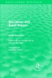 Socialism and Saint-Simon (Routledge Revivals)