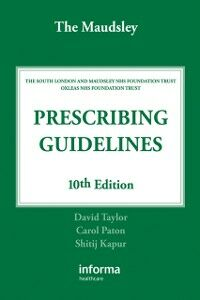 Ebook in inglese Maudsley Prescribing Guidelines Kapur, Shitij , Paton, Carol , Taylor, David
