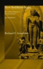 How Buddhism Began
